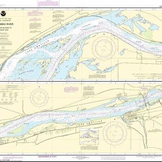 NOS NOS 18539 OGF Columbia River - Blalock Islands to McNary Dam
