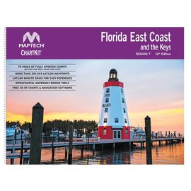 MTP ChartKit  7 Florida East Coast and the Keys by Maptech