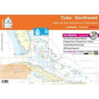NP NV Charts Region 10.3 Cuba Southwest, Cabo de San Antonio to Cienfuegos, 2015/16 Edition