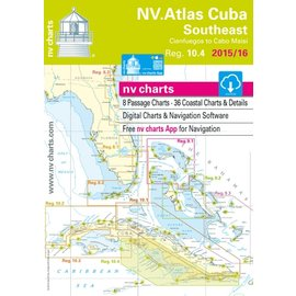 NV Charts Region 10.4 Cuba Southeast, Cienfuegos to Cabo Maisi
