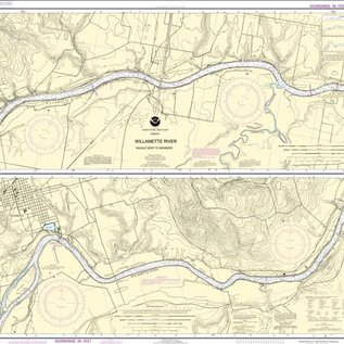 NOS NOS 18529 OGF Willamette River - Walnut Eddy to Newberg