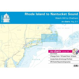 NP NV Charts Region 3.1 Rhode Island to Nantucket