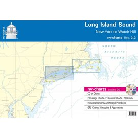 NV Charts Region 3.2 Long Island Sound Watch Hill to New York