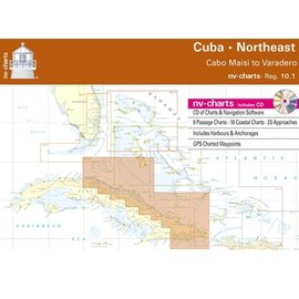 NP NV Charts Region 10.1  Cuba Northeast, Cabo Maisi to Varadero, 2015/16 Edition
