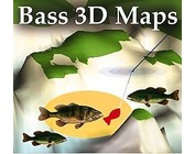 Bass 3D Fishing Maps