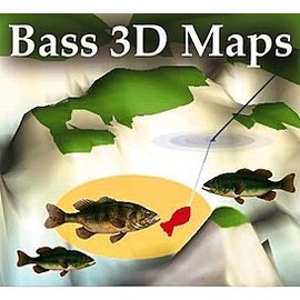 MTP BASS 3D MAPS Sam Rayburn Reservoir TX