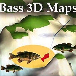 MTP BASS 3D MAPS Sam Rayburn Reservoir TX