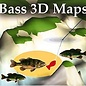 MTP BASS 3D MAPS Toledo Bend Reservoir TX/LA