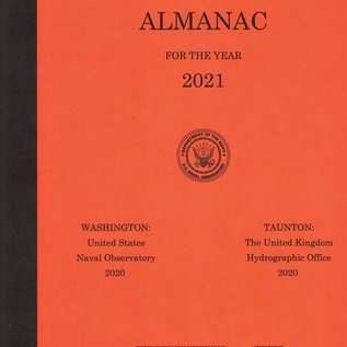 GPO Nautical Almanac 2021