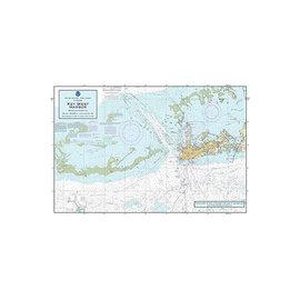 "PS Nautical Placemat Key West Harbor 12""x18"""