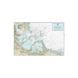 "PS Nautical Placemat Boston Inner Harbor 12""x18"""