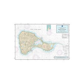 "PS Nautical Placemat Block Island 12""x18"""