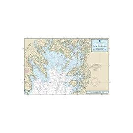 "PS Nautical Placemat Cape Cod Bay 12""X18"""