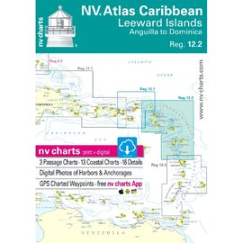 NP NV Charts Region 12.2 Leeward Island, Anguilla to Dominica Reg 2018/19 Edition