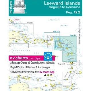 NP NV Charts Region 12.2 Leeward Island, Anguilla to Dominica Reg 2018/19 Edition