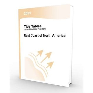 NOS 2021 Tide Tables East Coast North  America