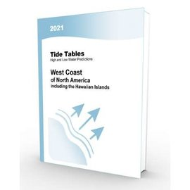 NOS 2021 Tide Tables West Coast North America (incl. the Hawaiian Islands)