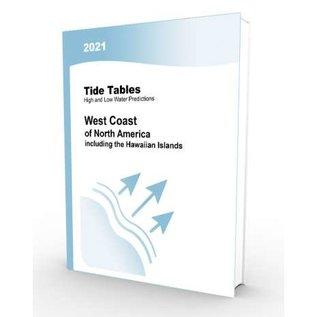 NOS 2021 Tide Tables West Coast North America (incl. the Hawaiian Islands)