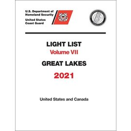GPO USCG Light List 7 2021 Great Lakes
