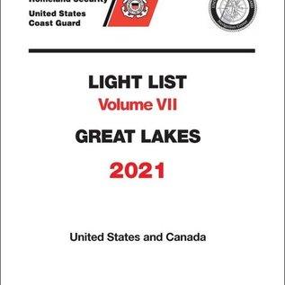 GPO USCG Light List 7 2021 Great Lakes