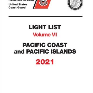 GPO USCG Light List 6 2021 Pacific Coast and Pacific Islands