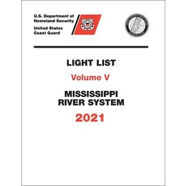 GPO USCG Light List 5 2021 Mississippi River System