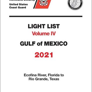 GPO USCG Light List 4 2021 Gulf of Mexico