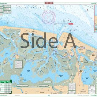 ISS Waterproof Charts Little Egg Harbor to Atlantic CIty 156E