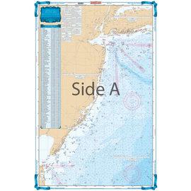 ISS Waterproof Charts New Jersey Coastal Fishing Chart 55F