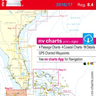 NV NV Charts Florida 8.4: South, Plantation Key to Key West