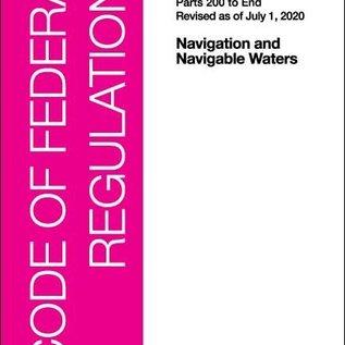 GPO CFR33 V3 200-END 2020 Navigation and Navigable Waters