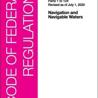 GPO CFR33 V1 1-124 2020 Navigation and Navigable Waters