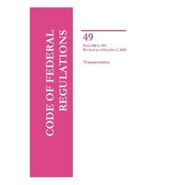 GPO CFR49 Volume 5 Parts 300-399 Transportation 2020