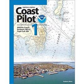 NOS Coast Pilot 1: 48ED/2018  Atlantic Coast Eastport ME to Cape Cod MA