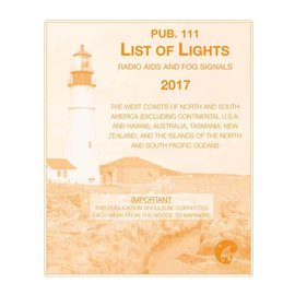GPO List of Lights LLPUB111 2017 West Coast of North & South America