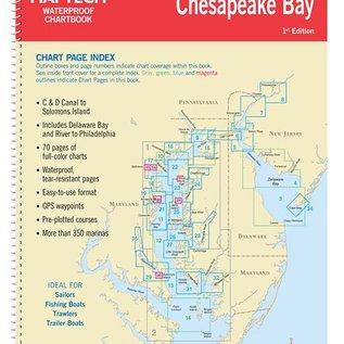 MTP Upper Chesapeake Bay Waterproof Chartbook by Maptech WPB0430-01