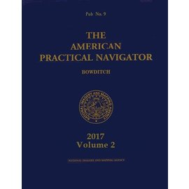 GPO Bowditch American Practical Navigator 2017 PUB9 Vol II (Tables)
