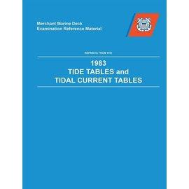 MET Tide & Tidal Current 1983 Reprint BK-0276-1