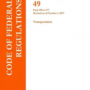 GPO CFR49 Volume 2 Parts 100-177 Transportation 2017