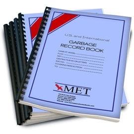 MET Garbage Record Book MET BK-326-1 2018