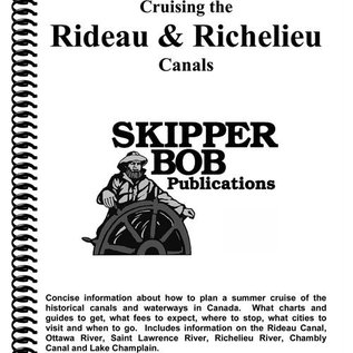 SKI Rideau & Richelieu Canals Skipper Bob Cruising Guide 20th Edition  *****OLD EDITION*****