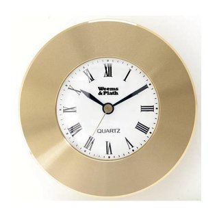 Chart Weight  - Brass Quartz Clock W&P 610500