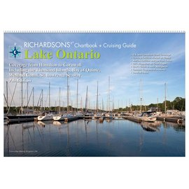 MTP Lake Ontario Richardson Chartbook & Cruising Guide 7th edition