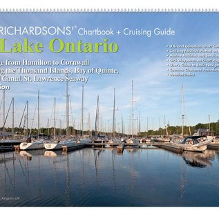 MTP Lake Ontario Richardson Chartbook & Cruising Guide 7th edition