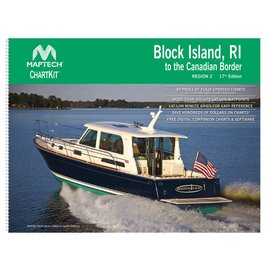 MTP ChartKit 2 Block Island to Canadian Border 17ED by Maptech
