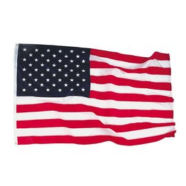"USA flag 3' x 5'  ""Bulldog"" cotton"
