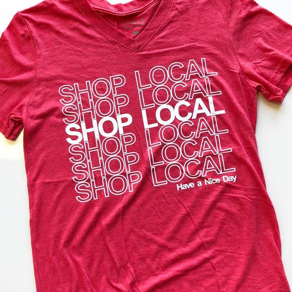 Shop Local Felicia Tees