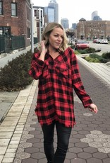 Pullover Buffalo Plaid Tunic