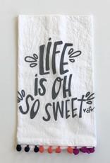 EB Life PomPom Tea Towel