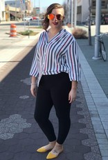 Sailor Striped Button Up